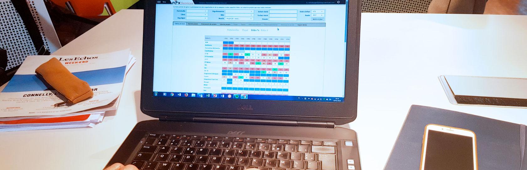 FlexServices, outil d'allocation des ressources SI et outil de pilotage d'activités du DSI